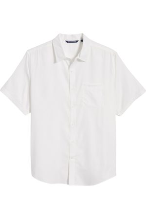 Cutter & Buck Men's Windward Short Sleeve Twill Button-Up Shirt