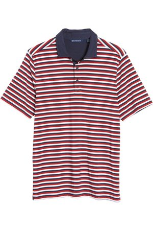 Cutter & Buck Men's Forge Drytec Stripe Performance Polo