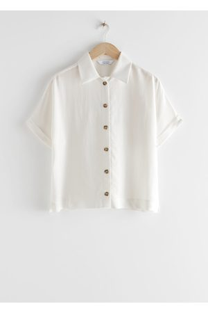 & OTHER STORIES Boxy Short Sleeved Shirt