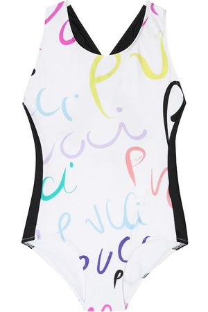 Emilio Pucci Girls Swimsuits - Printed swimsuit