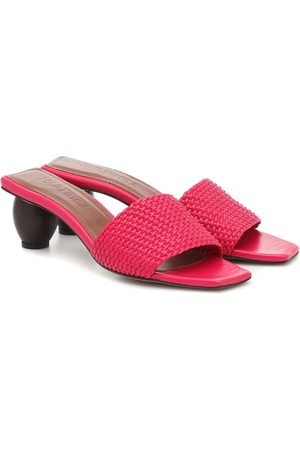 Souliers Martinez Exclusive to Mytheresa – Celia leather sandals