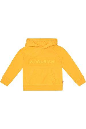Woolrich Boys Hoodies - Logo cotton-jersey hoodie