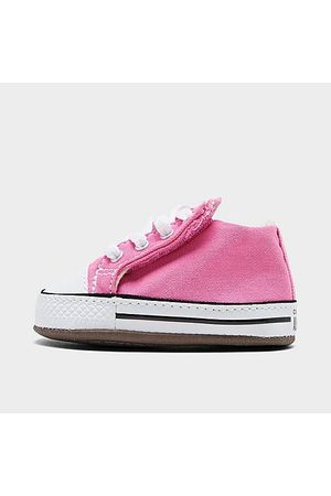 Converse Girls' Infant Chuck Taylor All Star Cribster Crib Booties in Size 1.0 Canvas/Lace