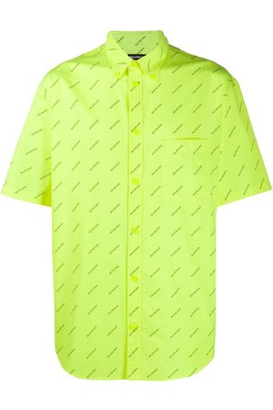 Balenciaga Logo-print shirt