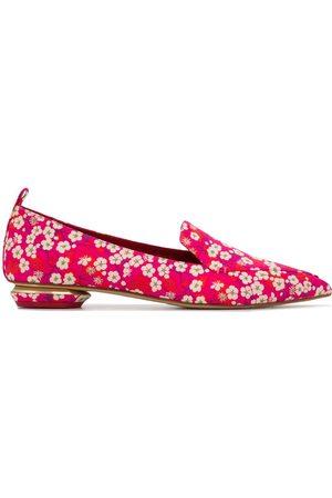 Nicholas Kirkwood BEYA floral-print loafers