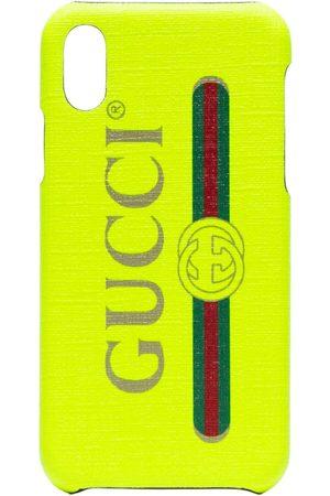 Gucci Women Phones Cases - Fluorescent iPhone X case