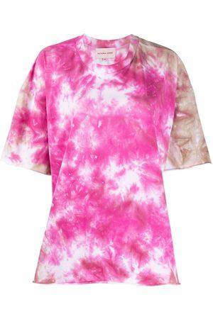 Natasha Zinko Women T-shirts - Oversized tie-dye print T-shirt