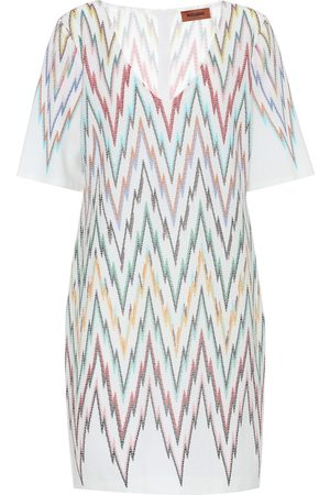 Missoni Women Midi Dresses - Stretch-silk dress