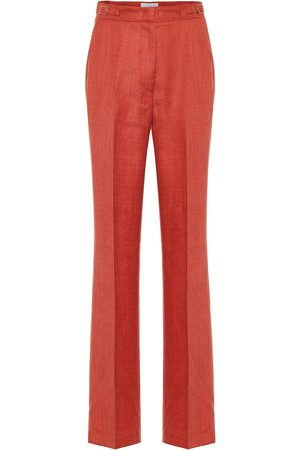 GABRIELA HEARST Vesta high-rise wool-blend pants