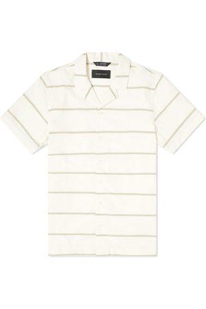 WINGS+HORNS Striped Deck Shirt
