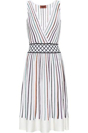 Missoni Striped stretch-silk dress