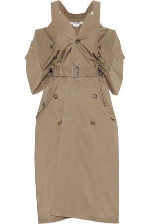 JUNYA WATANABE Cotton and linen trench midi dress