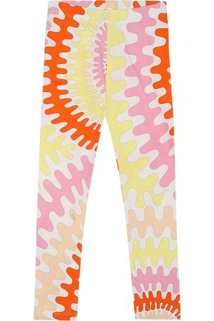 Emilio Pucci Printed stretch-cotton leggings
