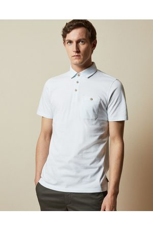 Ted Baker Ss Striped Polo