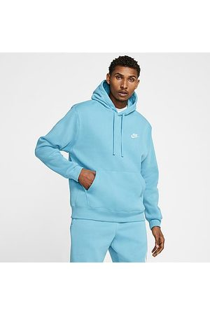 Nike Sportswear Club Fleece Embroidered Hoodie in /Cerulean Size X-Large