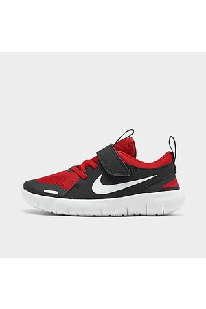Nike Boys' Little Kids' Flex Contact 4 Hook-and-Loop Running Shoes in / /University Size 3.0