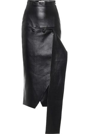 Matériel Tbilisi High-rise faux-leather skirt