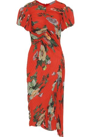 THORNTON BREGAZZI Meggy georgette midi dress