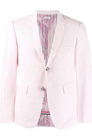 Thom Browne Seersucker striped sport blazer