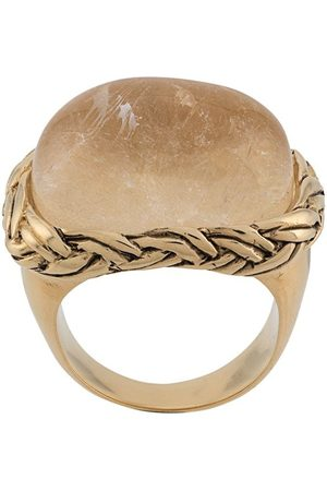 Goossens Women Rings - Babylone braided crystal ring