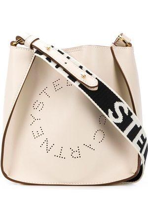 Stella McCartney Women Shoulder Bags - Stella Logo crossbody bag - NEUTRALS