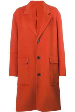 Ami Women Coats - Three buttons patch pocket unlined coat