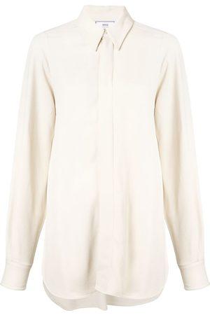 Ami Women Shirts - Pointed-collar shirt