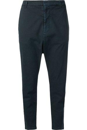 NILI LOTAN Cropped drop-crotch trousers
