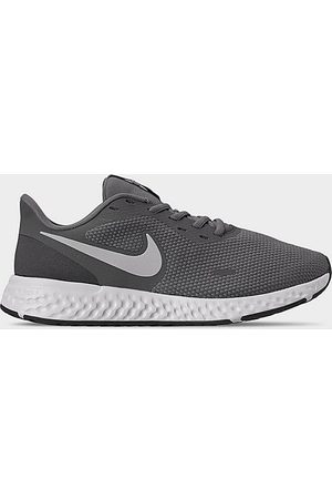 Nike Men's Revolution 5 Running Shoes (Wide Width) in Grey Size 11.0 Knit