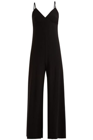 Norma Kamali Core Wide-leg Jumpsuit - Womens