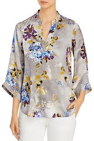 Go By Go Silk Bella Floral-Print Silk Tunic