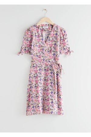 & OTHER STORIES Mini Wrap Dress