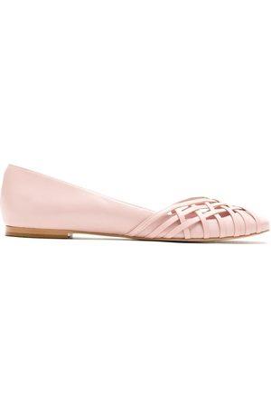 Sarah Chofakian Women Ballerinas - Victoria leather ballerina shoes