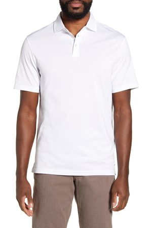 Brax Men's Pepe Solid Cotton Polo