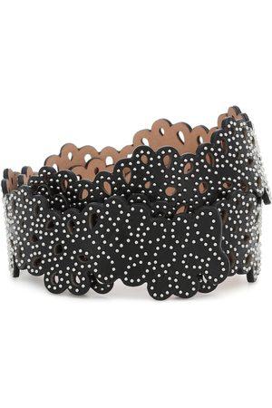 Alaïa Embellished leather belt