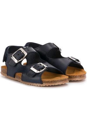 PèPè Double buckle flat sandals