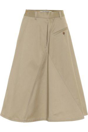 JUNYA WATANABE High-rise cotton skirt