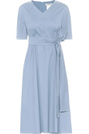 Max Mara Lea cotton-blend midi dress