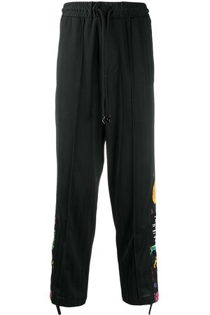 VERSACE Baroque print detailed track pants