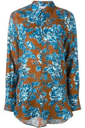 Ami Floral-print shirt