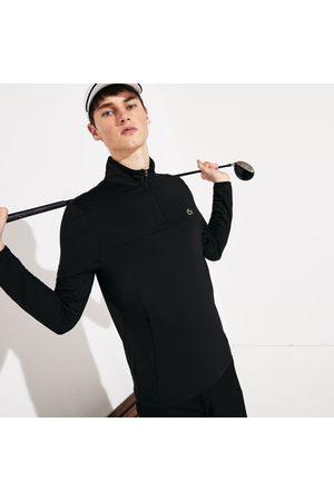 Lacoste Men's Sport Stretch Zippered Collar Sweatshirt :
