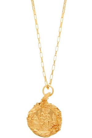 Alighieri Women Necklaces - St Christopher 24kt -plated Necklace - Womens