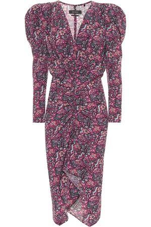 Isabel Marant Exclusive to Mytheresa – Raven stretch-silk dress