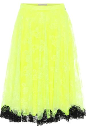 Christopher Kane High-rise tulle dress