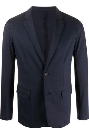 Emporio Armani Men Blazers - Lapel-pin blazer