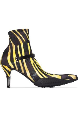 adidas Zebra print 80mm ankle boots