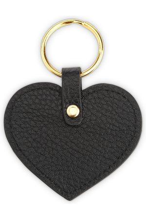 Royce New York Leather Heart Key Fob