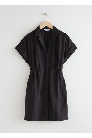 & OTHER STORIES Fitted Button-Down Mini Dress