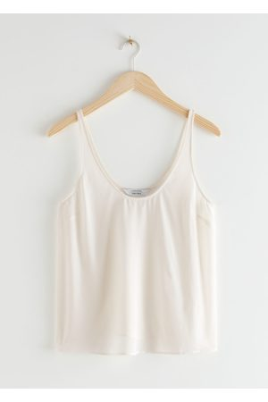 & OTHER STORIES Relaxed Silk Crepe Top