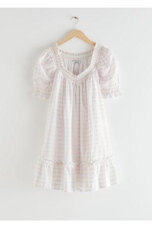 & OTHER STORIES Voluminous Frill Mini Dress